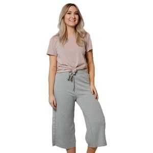 Z Supply | Feathered Fleece Culottes XS NEW